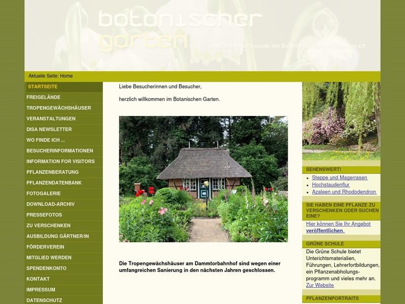 Screenshot von http://www.bghamburg.de